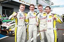 Rowe Racing rast im Regenchaos auf Rang zwei