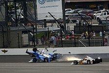 IndyCar - Mega-Unfall von Dixon und Howard beim Indy 500
