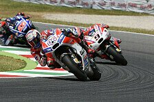 MotoGP - Video: Dovizioso gewinnt Krimi: Die Highlights aus Mugello 2017