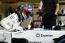Paul Di Resta ersetzt Felipe Massa bei Williams in Ungarn wegen Krankheit