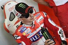 Jorge Lorenzo verweigert Andrea Dovizioso Schützenhilfe bei Ducati