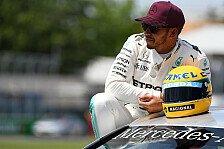 Nicht nur 65 Poles: Mercedes' Lewis Hamilton egalisiert noch mehr Senna-Rekorde