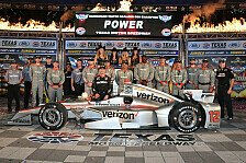 IndyCar - Kanaan from Zero to Hero: Power gewinnt Crash-Spektakel in Texas