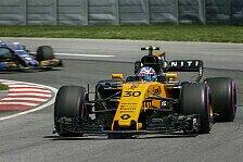 Renault heizt Hülkenberg-Kollege Jolyon Palmer ein: In F1 ist niemand sicher