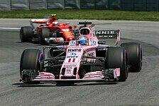 Sergio Perez: Nächstes Baku-Podium für Force India drin, Red Bull schlagbar