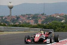Ungarn: Max Günther dominiert - Mick Schumacher in Top-10