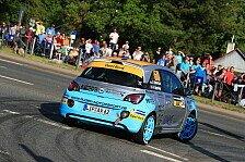 Titelkampf im ADAC Opel Rallye Cup nimmt Fahrt auf
