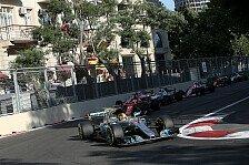 Baku: Ricciardo siegt, Vettel fährt Hamilton rein