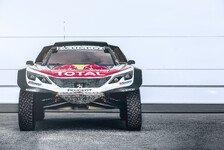 Dakar Rallye - Video: Breit, breiter, der neue Peugeot 3008DKR Maxi