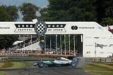 Formel 1 - Video: Goodwood: Onboard-Bilder von Rosbergs Rallycross-Run