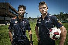 Nach Red-Bull-Kollision: Verstappen und Ricciardo in Belgien wieder ein Team