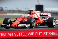 Wegen Schwindel: Sebastian Vettel bricht Ferraris Shield-Test in Silverstone ab