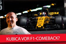 Formel 1 - Video: Robert Kubica vor F1 Comeback?