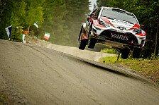 Toyota-Spitze: Latvala führt die Rallye Finnland vor Lappi an