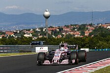 Force India leidet in Ungarn: McLaren & Renault schneller, Top-10 in Gefahr