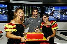 McLaren Best of the Rest in Ungarn: Geburtstags-Glück für Alonso