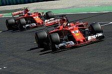 Qualifying: Vettel mit Fabelzeit auf Ungarn-Pole vor Ferrari-Kollege Räikkönen