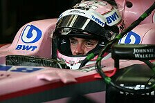 Lucas Auers F1-Debüt in Ungarn: Du musst auch mal atmen