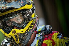 Treffen der Motocross-Superstars in England
