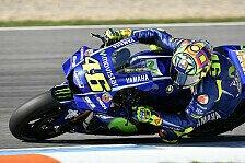 Valentino Rossi wird in Misano nicht ersetzt - Yamaha nur mit Vinales