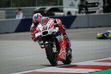 Marquez stürzt, Petrucci holt Bestzeit in Misano