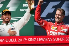Vettel vs. Hamilton: WM-Fight der Besten im Video