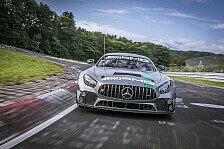 Renndebüt für brandneuen Mercedes-AMG GT4 auf der Nordschleife