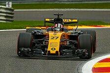 Hülkenberg in Spa unzufrieden: Renault-Pilot klagt nach Trainings über Balance