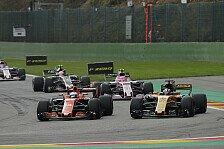 McLaren: Alonso schimpft in Spa über peinlichen Honda-Motor