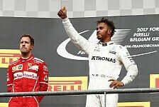 WM 2017: So zieht Hamilton in Monza an Vettel vorbei