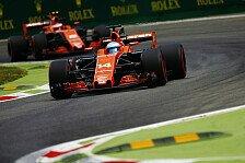 Monza: Fernando Alonso als Vandoornes Wasserträger