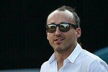 Kubica in Monza zurück im Fahrerlager