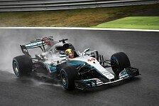 Formel 1 2017 Monza: Hamilton knackt Schumachers Pole-Rekord