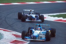 Formel 1, Monza-History: Schumacher vs. Hill eskaliert in Crash