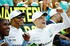 Trotz Monza-Auferstehung: Bottas droht jetzt Rolle als Hamilton-Helfer