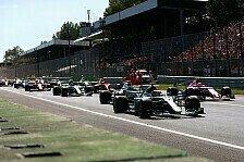 Formel-1-2017: In Monza erstmals ohne neuen Rundenrekord