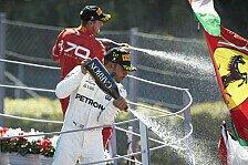 Formel 1 - Bilderserie: Italien GP - Pressestimmen: Hamilton verprügelt Vettel