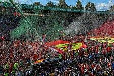 Tops & Flops aus Monza: Hamilton wie Senna, Ferrari starr vor Angst