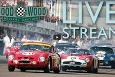 Live-Stream: Goodwood Revival 2017