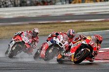 MotoGP - Video: Marquez siegt im Regen - Die Highlights aus Misano 2017
