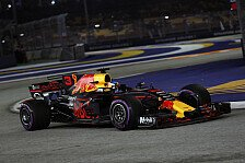 Formel 1 Singapur: Red Bulls Ricciardo dominiert 2. Training