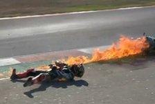 Tom Sykes bei Superbike-Feuerunfall in Portimao verletzt
