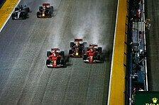 Crash! Verstappen an Vettel: So aggressiv nicht gerade schlau