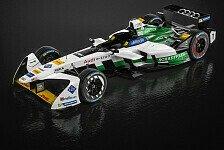 Formel E - Neuer Formel-E-Renner von Audi vorgestellt