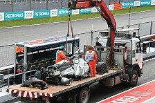 Nach Grosjean-Unfall in Malaysia: Haas will Kosten nicht tragen