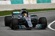 Formel 1, Malaysia-Qualifying: Hamilton-Pole bei Vettel-Horror