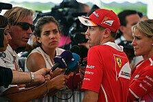 Formel 1 2017, Vettel: Sepang-Sieg vom letzten Platz möglich