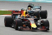 Formel 1 Malaysia 2017: Verstappen siegt bei Vettel-Aufholjagd