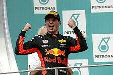 Verstappen-Payback: Malaysia-Sieg über Hamilton erlöst Mad Max