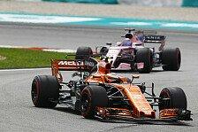 Vandoorne deklassiert Alonso: Belgische Sternstunde in Malaysia